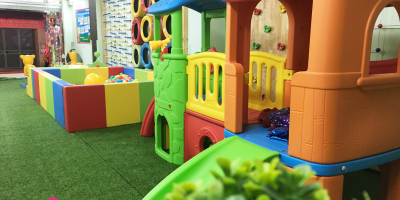 Cơ sở vật chất của mầm non Happy Kids Plus