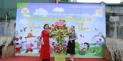 Mầm non Happy kids Plus tổ chức Khai giảng và Trung thu