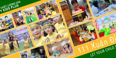 Kết quả trao giải cuộc thi Happy kids plus trong trái tim em