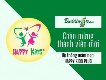 Học Tiếng Anh bản quyền Budding Bean tại Happy Kids Plus